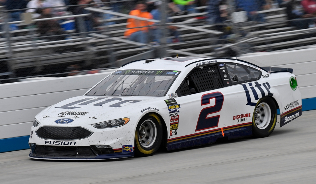 Keselowski Earns Top-10 Finish at Dover - The Official Site